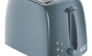 Russell Hobbs 21644 Textures 2 Slice Toaster - Grey