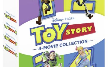 Toy Story 1-4 Complete DVD Box Set
