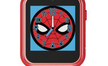 Disney Spiderman Multicoloured Silicone Childrens Watch