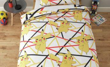 Pokemon Pikachu Bedding Set - Single