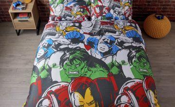 Marvel Comics Marvel Squad Bedding Set - Double