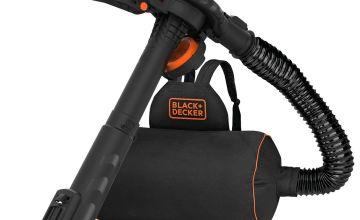 Black + Decker Garden Blow Vac - 3000W
