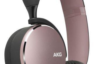 AKG Y500 On-Ear Wireless Headphones - Pink