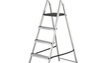 Abru Werner 5 Tread High Handrail Step Ladder