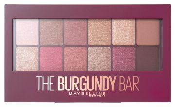 Maybelline Burgundy Eye Shadow Palette