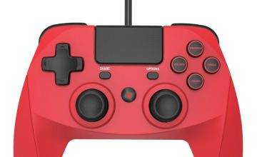 Snakebyte Game:Pad 4S PS4 Wired Controller - Red