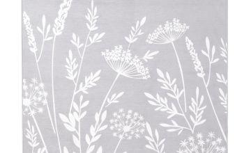 Argos Home Country Floral Rug - 170x120cm - Grey