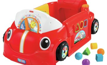 Fisher-Price Laugh & Learn Smart Stage Crawl Around Car -Red