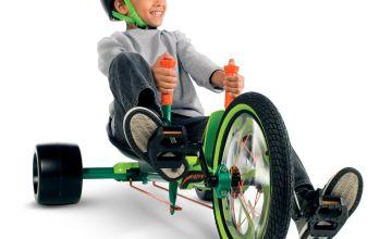 Huffy Green Machine Junior Ride On - Green