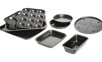 Argos Home 9 Piece Steel Bakeware Set