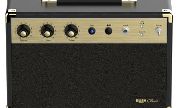 Bush Classic Guitar AMP Bluetooth Speaker - Black