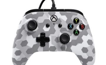 PowerA Wired Xbox One Controller  - Arctic Frost Camo