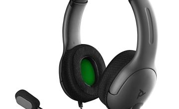 PDP Officially Licensed LVL40 Xbox One & PC Headset – Grey