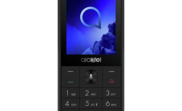 EE Alcatel 3088 Mobile Phone - Black