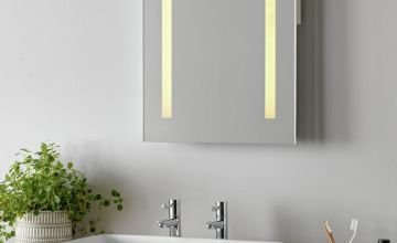 Argos Home Abraham LED Bathroom Mirror