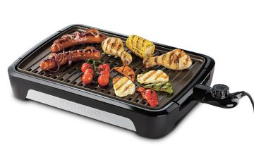 George Foreman 25850 Smokeless BBQ Large Health Grill