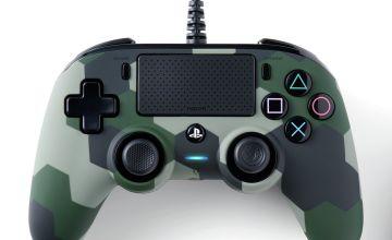 Nacon PS4 Compact Controller - Camo Green