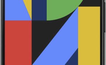 SIM Free Google Pixel 4 128GB Mobile Phone - Black