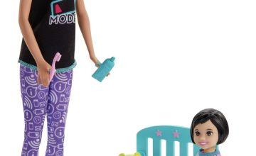 Barbie Babysitter Bedtime Skipper Doll