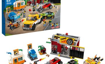 LEGO City Turbo Wheels Tuning Workshop Building Set - 60258
