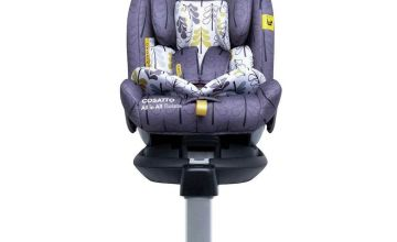 Cosatto All in All Rotate Group 1/2/3 ISOFIX Car Seat Forest