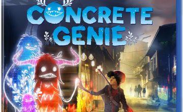 Concrete Genie PS4 Game (PS VR Compatible)