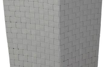 Argos Home 60 Litre Yarn Laundry Bin - Flint Grey