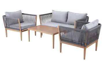 Argos Home Pascal 4 Seater Sofa Set