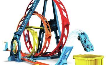 Hot Wheels Trackbuilder Triple Loop Kit