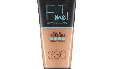 Maybelline Fit Me Matte & Poreless Foundation 30ml