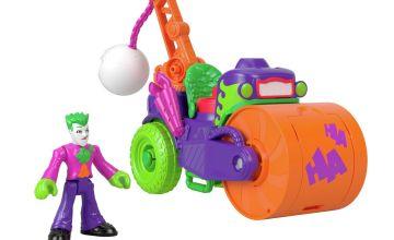 Imaginext DC Super Friends Batman The Joker & Steamroller