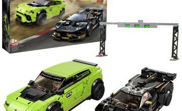 LEGO Speed Champions Lamborghini Urus & Huracán Set - 76899
