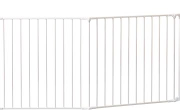 BabyDan XXL Room Gate Divider - White.