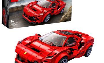 LEGO Speed Champions Ferrari F8 Tributo Car Set - 76895