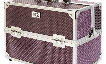 SOHO Purple Diamond Vanity Case