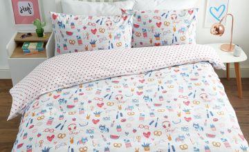 Argos Home Go Girl Bedding Set