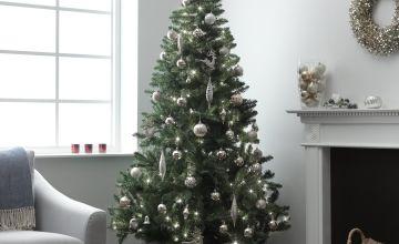 Argos Home 7ft Pre-Lit Christmas Tree - Green