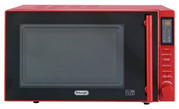 De'Longhi 900W Standard Microwave P90D Easi-Tronic  - Red