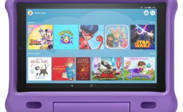 Amazon Fire 10 HD Kids Edition 32GB Tablet - Purple