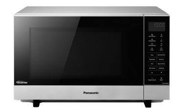 Panasonic Standard Flatbed Microwave NN-SF464M - Silver