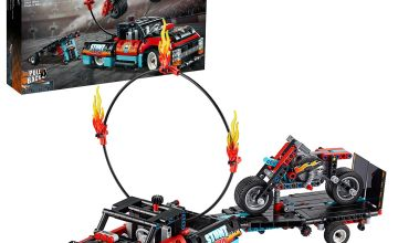 LEGO Technic Stunt Show Truck & Bike Toys Set - 42106