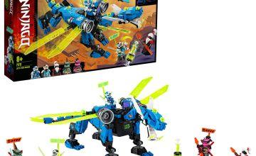 LEGO Ninjago Jay's Cyber Dragon Mech Action Figure - 71711/t