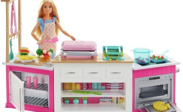 Barbie Career Ultimate Kitchen with Doll Playset