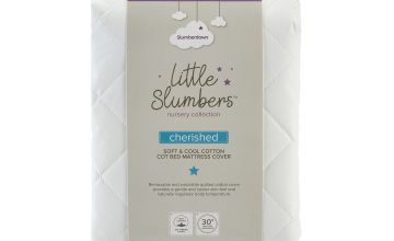 Slumberdown Cherished 233TC Cotton Cor Bed Mattress Cover
