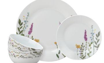Argos Home Botanist 12 Piece Dinner Set