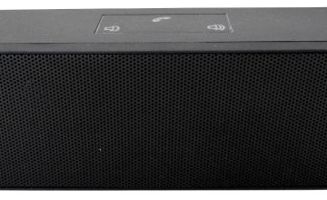 Bush Stereo Portable Wireless Speaker - Black