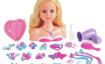 Chad Valley 100 Piece Styling Dolls Head