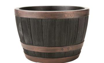 Keter 40cm Blenheim Half Barrel - Copper