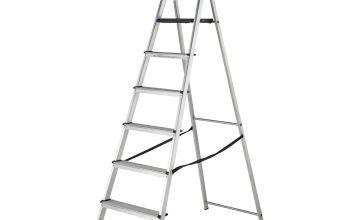 Abru Werner High Handrail Step Ladder