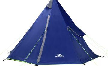 Trespass 4 Man 1 Room Teepee Camping Tent